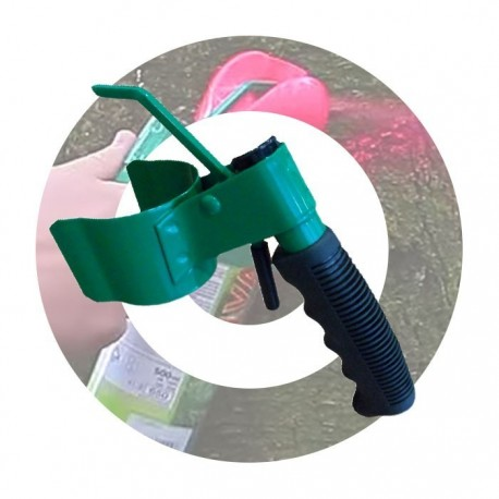 Sprayhandtag för Skogsfärg