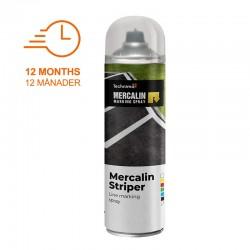 Mercalin striper : Sprayfärg för Linjemarkering