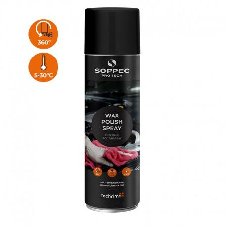 Wax polish spray