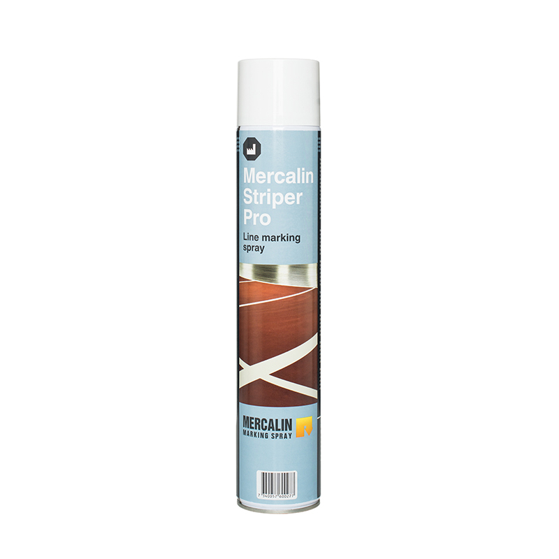 Aerosol can Mercalin Striper Pro white 750 ml