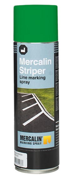Aerosol can Mercalin Striper green 500ml