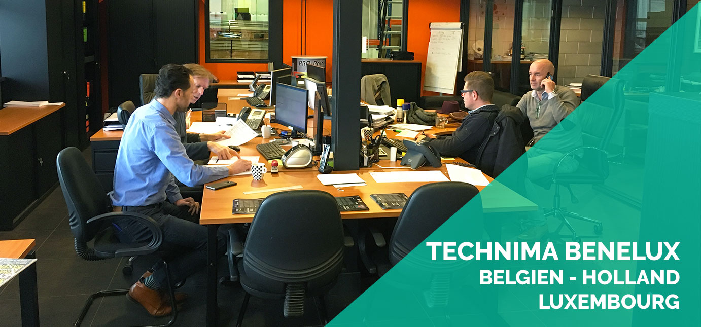 Sales network technima benelux