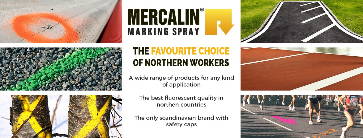 MERCALIN MARKING SPRAYS