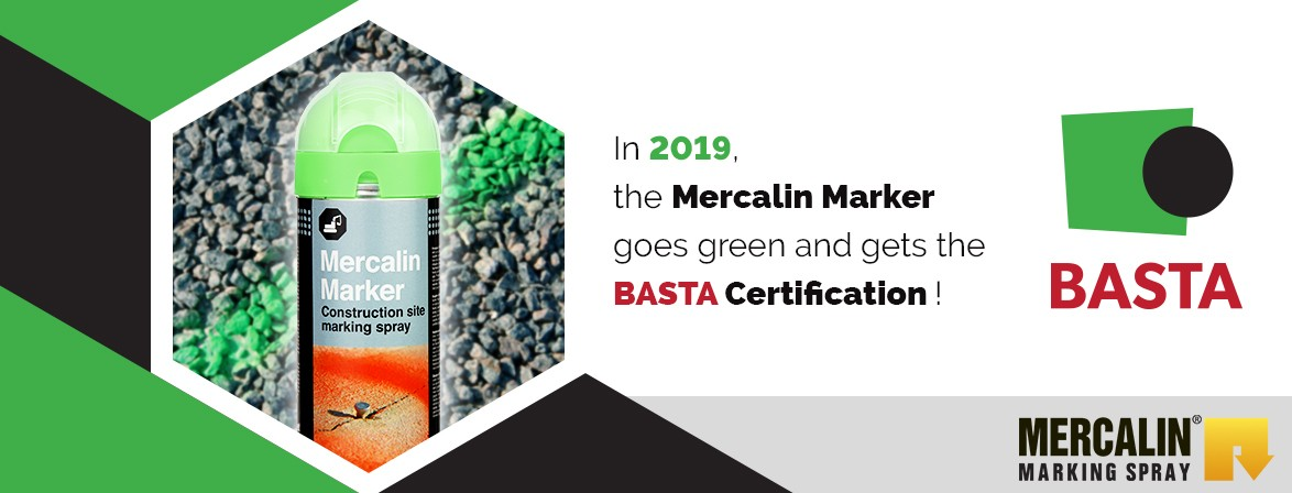 Mercalin Marker BASTA certification